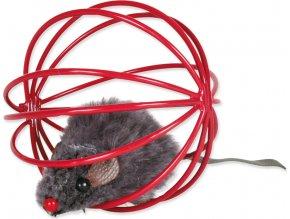 Hračka TRIXIE kovové míčky s myší 6 cm 1ks
