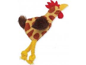 Hračka MAGIC CAT Skinneeez kuře mix 11 cm 1ks