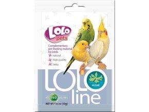 LOLOLINE ALGAE - mořská řasa pro ptáky 10 g