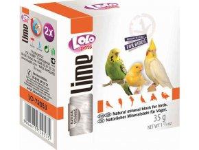 LOLOpets LIME přírodní minerální kámen pro ptáky 40 g