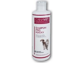 CANAVET šampon pro kočky s antipar.přísadou Canabis CC 250ml
