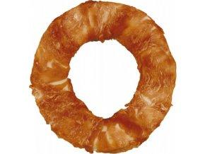 Kroužek TRIXIE Dog Denta Fun žvýkací s kuřecím filetem 10 cm 110g