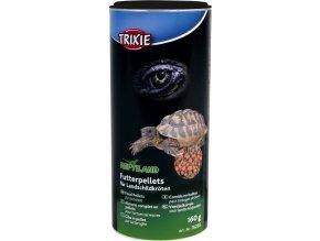 Granulované krmivo pelety pro suchozemské želvy 150 g/250 ml