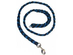 Vodítko COP silné modro-černé 1,2m