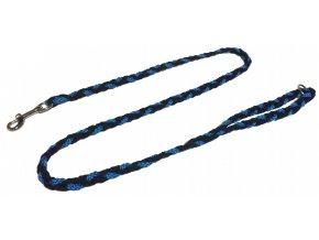 Vodítko COP slabé modro-černé 1,2m
