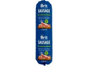 Salám BRIT Premium Sausage kuřecí maso & zvěřina 800g