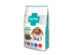 Nutrin Complete Králík Adult zelenina 400g