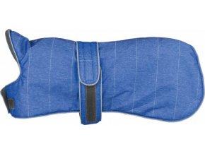 Zimní vesta BELFORT M 50 cm světle modrá s flízem