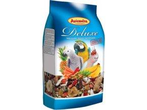 AVICENTRA delux krmivo pro velké papoušky