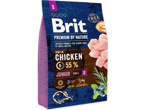 Brit Premium by Nature Dog Junior S 3 kg