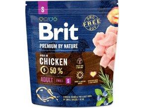 Brit Premium by Nature Dog Adult S 1 kg