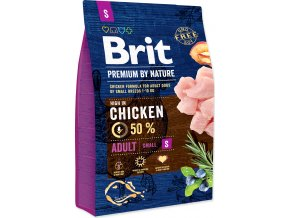 Brit Premium by Nature Dog Adult S 3 kg