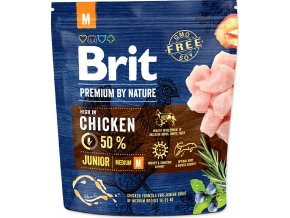 Brit Premium by Nature Junior M 1kg