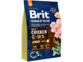 Brit Premium by Nature Dog Junior M 3 kg