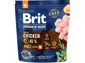 Brit Premium by Nature Dog Adult M 1 kg