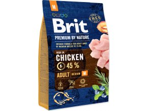 Brit Premium by Nature Dog Adult M 3 kg