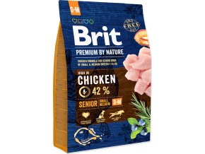 Brit Premium by Nature Dog Senior S+M 3 kg