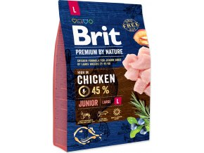 Brit Premium by Nature Dog Junior L 3 kg