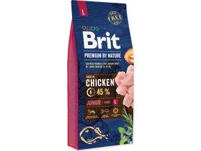 Brit Premium Dog by Nature Junior L 15kg