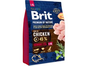 Brit Premium by Nature Dog Senior L+XL 3 kg