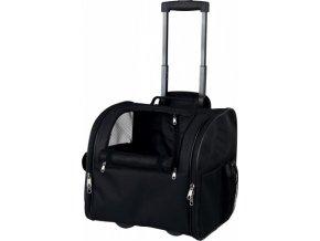 Cestovní batoh FERO na koleč. 37 x 26 x 28 cm černý nos.12kg