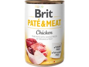 Brit Dog konz Paté & Meat Chicken 400g