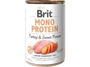 Brit Dog konz Mono Protein Turkey & Sweet Potato 400g