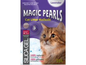 Kočkolit MAGIC PEARLS Lavender 16l