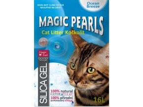 Kočkolit MAGIC PEARLS Ocean Breeze 16l