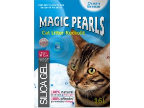 Kočkolit MAGIC PEARLS Ocean Breeze 16l