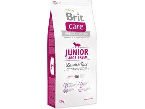 Brit Care Dog Junior Large Breed Lamb & Rice 12 kg