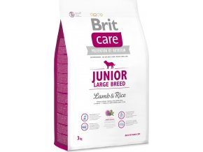 Brit Care Dog Junior Large Breed Lamb & Rice 3 kg