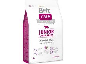 Brit Care Dog Junior Large Breed Lamb & Rice NOVÝ 3 kg