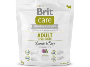 Brit Care Dog Adult Small Breed Lamb & Rice 1 kg