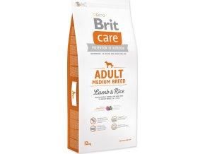 Brit Care Dog Adult Medium Breed Lamb & Rice NOVÝ 12 kg