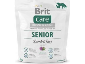 Brit Care Dog Senior Lamb & Rice 1 kg