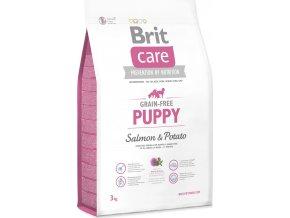 Brit Care Grain Free Dog Puppy Salmon & Potato 3 kg