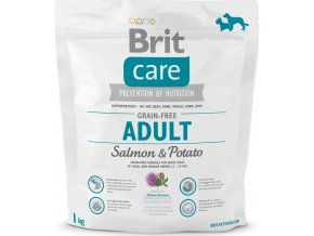 Brit Care Grain Free Dog Adult Salmon & Potato 1 kg