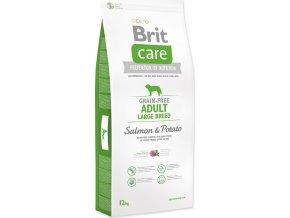 BRIT Care Dog Grain-free Adult Large Breed Salmon & Potato 12kg