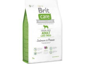 BRIT Care Dog Grain-free Adult Large Breed Salmon & Potato 3kg