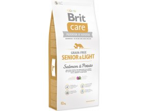 BRIT Care Grain-free Senior & Light Salmon & Potato 12kg