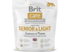 BRIT Care Grain-free Senior & Light Salmon & Potato 1kg