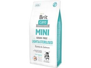 Brit Care Dog Mini Grain Free Light & Sterilised 7kg