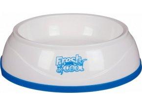 Cool Fresh chladící miska plastová, bílo/modrá 1 l/20 cm