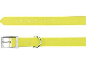 Easy Life obojek PVC L 51-59 cm/25 mm neon žlutý