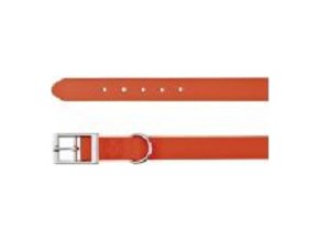Easy Life obojek PVC M 35-43 cm/20 mm neon oranžový