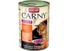 ANIMONDA konzerva CARNY Adult - hovězí, kuřecí 400g