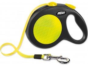 Vodítko FLEXI New Neon páska L - 5m žluté 1ks