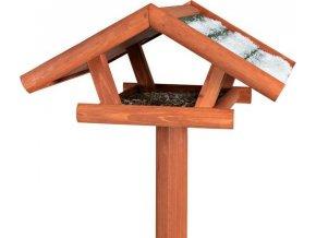 NATURA venkovní krmítko na stojanu 46x22x44cm/1,15m