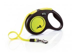 flexi New Neon M Tape 5m yellow